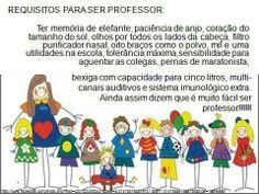 Requisitos para ser professor