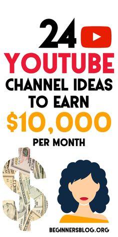 Youtube Hacks, You Youtube, Youtube Style, Youtube Money, Start Youtube Channel, Video Channel, Earn Money Online, Affiliate Marketing, Making Ideas