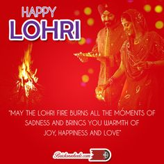 """Wishing you & your family a very """"HAPPY LOHRI"""""""