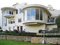 #ArtDeco | House in Melbourne, Australia