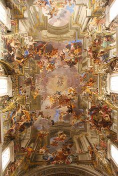 Andrea Pozzo | Ceiling of St. Ignatius Church