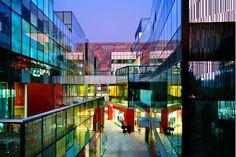 Sanlitum Village shopping center in Beijing by Kengo Kuma