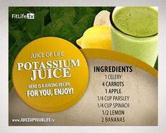 Potassium juice