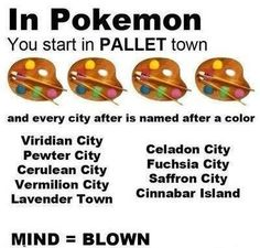 My mind has actually been blown so don't judge me; never noticed!