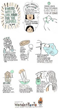 natural ways to cool down