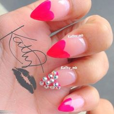 Kathybenavides Valentines Nails Fabulous Gorgeous Love Fun