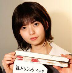 #「映像研には手をだすな」 髪 短くても可愛いって罪だね Saito Asuka, Hands, Pretty