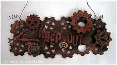 Industrial Style, Steampunk, Wreaths, Halloween, Inspiration, Vintage, Home Decor, Cards, Biblical Inspiration