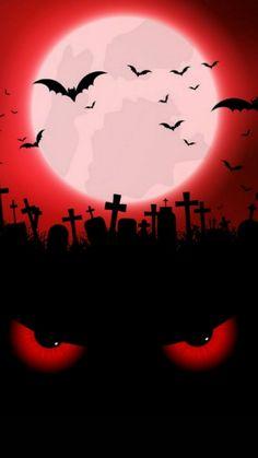 By Artist Unknown . Halloween 3, Halloween Painting, Halloween Signs, Halloween Pictures, Halloween Themes, Halloween Wallpaper Iphone, Halloween Backgrounds, Creepy Kids, Creepy Houses