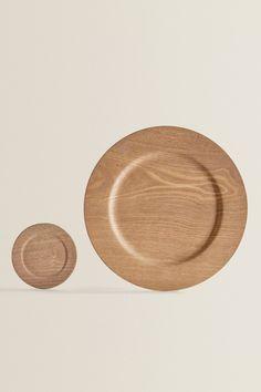 WOOD-EFFECT TABLEWARE | ZARA United Kingdom Home Decor Accessories, Decorative Accessories, Zara United Kingdom, Zara Home, Kids House, Plates, Tableware, Wood, Barn