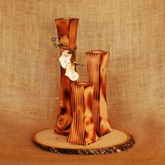 Personalized Taper Candles in Varied Heights