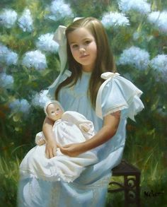 By Brian Neher, American portraitist
