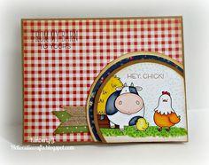 Kimberly's Crafty Spot: Card Harmony- The Whole Herd