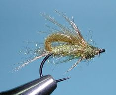 CDC Bubbleback Caddis Emerger, Olive