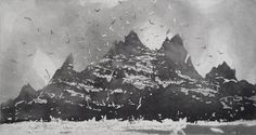 Skellig Revisited, Norman Ackroyd CBE RA