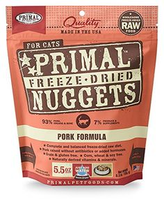 Primal FPKFD55 Pet Foods FreezeDried Feline Pork Formula 55 oz -- You can get more details by clicking on the image.