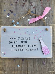 £6.00 ~ wooden plaque ~ home decor ~ hanging plaque ~ quote ~ fun. visit us on facebook for more designs