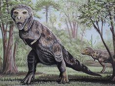 Fluffy....the female t-rex
