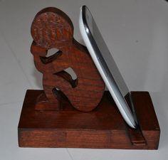 Resultado de imagem para porta celular madeira projeto