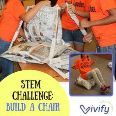 3 Amazing Newspaper STEM Challenges - STEM Activities for Kids