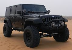 Blacked out Jeep JK