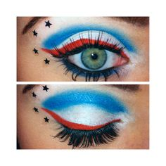 The Avengers   Captain America   Idea Gallery   Makeup Geek ❤ liked on Polyvore
