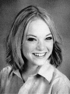 Emma Stone's Yearbook Photo