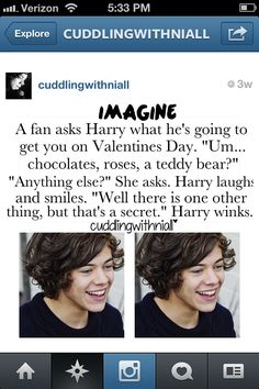Imagine Harry IF ONLY!!!! Follow if u want that 2 happen 2!!!!!