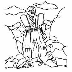 Moses Coloring Pages Free Printables Momjunction Monster Coloring Pages Coloring Pages Sunday School Coloring Pages