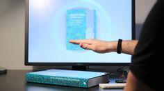 Arduino capacitive proximity sensor, embedded in a book