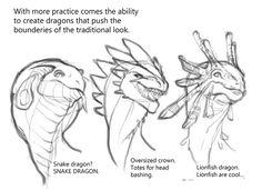 Art Tutorials and References — mudora: Dragon tu… – Pintes Creature Concept Art, Creature Design, Dragon Anatomy, Dragon Sketch, Cute Dragon Drawing, Dragon Drawings, Creature Drawings, Dragon Art, Koi Dragon