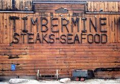 Located by the mouth of Ogden canyon, The Timbermine (1701 park blvd Ogden, Utah 84401) it's faishoned like an old minning lodge and has outstanding steak and seafood Definitely worth every penny. It is also voted number 1 of the top 15 best eats in Utah abd is always voted number 1 steak, seafood, and restraunt. Love it no one beats this.