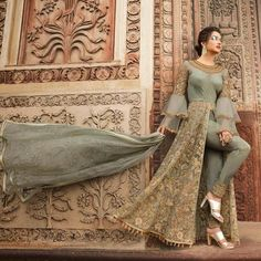 Looking to buy Anarkali online? ✓ Buy the latest designer Anarkali suits at Lashkaraa, with a variety of long Anarkali suits, party wear & Anarkali dresses! Bridal Anarkali Suits, Anarkali Dress, Pakistani Dresses, Indian Dresses, Indian Outfits, Indian Style Clothes, Indian Wedding Gowns, Pakistani Party Wear, Party Wear Lehenga