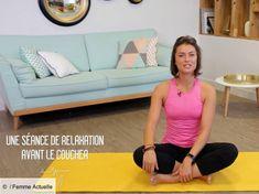 Yoga : la séance de relaxation à faire avant d'aller au lit Yoga Régénérateur, Ashtanga Yoga, Hot Yoga, Relaxing Yoga, Deep Relaxation, Pranayama, Delphine Bourdet, Yoga Fitness, Health Fitness