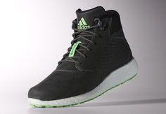 adidas D Rose Lakeshore Boost - Granite - Neon - SneakerNews.com