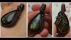 You tube Wire Wrapped Cabochon Undrilled Stone Pendant Tutorial Demo Bijoux Wire Wrap, Wire Wrapped Necklace, Wire Wrapped Rings, Wire Wrapped Pendant, Septum Ring, Wire Wrapping Tutorial, Wire Wrapping Crystals, Jewelry Making Tutorials, Wire Tutorials