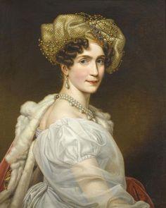 Auguste de Beauharnais, Herzogin von Leuchtenberg und Fürstin zu Eichstätt, geborene Prinzessin von Bayern. Tochter von König Maximilian I. Joseph und seiner ersten Frau Prinzessin Auguste Wilhelmine von Hessen-Darmstadt (1788-1851)
