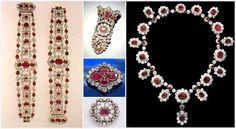 The Royal Order of Sartorial Splendor: Tiara Thursday: The French Crown Ruby Parure