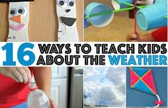 TEACH KIDS ABOUT THE WEATHER Activities here: http://www.playideas.com/teach-kids-about-weather/
