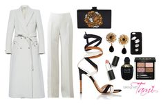 """""""Late Dinner Date"""" by talkingwithtami ❤ liked on Polyvore featuring Blazé Milano, Michael Kors, Edie Parker, Gianvito Rossi, Dolce&Gabbana, Sigma Beauty, Alexander McQueen, STELLA McCARTNEY and Gucci"""
