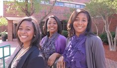 Thompson Triplets, Bre'Andria, Cre'Andria and Dre'Andria graduated magna cum laude from Norfolk State University in chemistry. The Dozoretz National Institute for Mathematics and Applied Sciences (DNIMAS) scholars are the first triplets to graduate from the program in its more that 25 - year history. (Black Collegian Magazine)