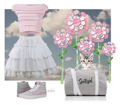 """Here kitty"" by blubrgndy on Polyvore featuring Alexander McQueen and Vans"