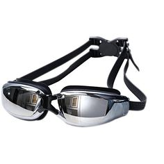 Deercon Adjustable Unisex Adult Non Fogging AntiUV Swimming Goggles Swim Glassesblack >>> To view further for this item, visit the image link.(It is Amazon affiliate link) #jj