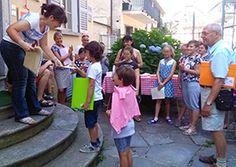 Premiazioni per i corsi di disegno alla Scuola di Belle Arti Rossetti Valentini. Ad agosto si replica. Foto - Ossola 24 notizie