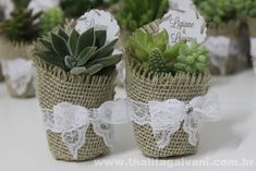 I want to do this as a wedding favor! Autumn Wedding, Rustic Wedding, Our Wedding, Wedding Favours, Wedding Gifts, Wedding Ideias, Wedding Planer, Succulent Gifts, Deco Table