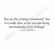 Selfish inconsiderate boyfriend