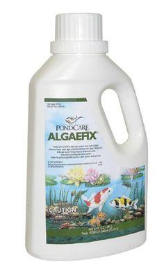 AQUARIUM PHAR/MARS FISHCARE, ALGAEFIX - 64 OZ, Part No. 508147 (Catalog Category: WATER GARDENING CHEMICALS ) . $35.00