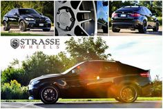 BMW X6M on Strasse Forged Wheels – Shining Tycoon