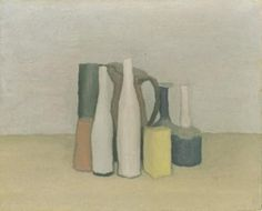 Sotheby's presents works of art by Giorgio Morandi. Browse artwork and art for sale by Giorgio Morandi and discover content, biographical information and recently sold works. Italian Painters, Italian Artist, Negative And Positive Space, Framing Canvas Art, Still Life Drawing, Paintings I Love, Oil Paintings, Jackson Pollock, Sign Printing