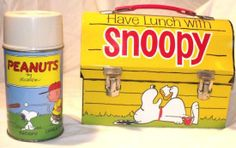 Snoopy Lunch box oh gosh! I used to have one of this.
